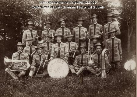 New Sweden Band, ca. 1910