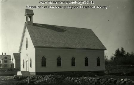 Notre Dame Church, Springvale, Ca. 1900