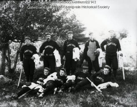 Sanford Baseball Team, ca. 1891
