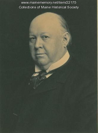 Thomas Brackett Reed, Portland, ca. 1899