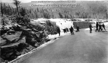 CCC Workers in Acadia National Park, ca. 1934