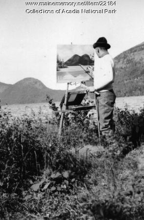 CCC work, Acadia National Park, ca. 1934