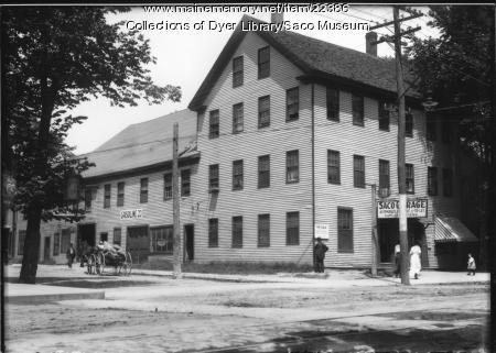 Saco Garage, ca. 1913