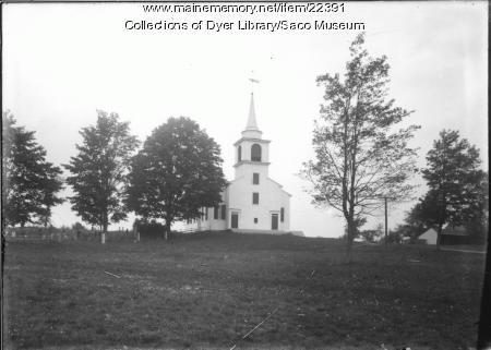 Tory Hill Meeting House, Buxton, ca. 1900