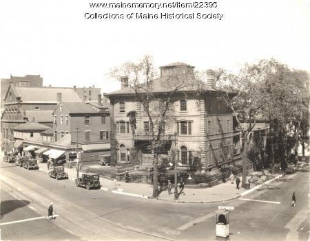 Libby home, Portland, ca. 1925