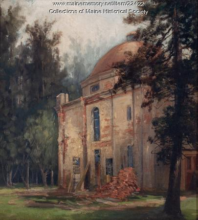 Francis O. J. Smith home, Portland, ca. 1855