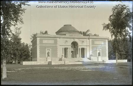 Walker Art Building, Bowdoin College, Brunswick, ca. 1910