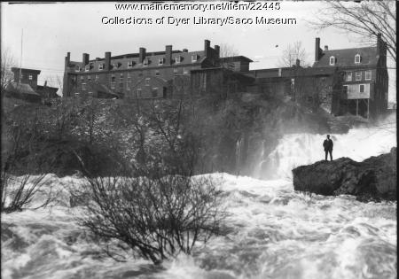 Cataract Falls, Saco, ca. 1895