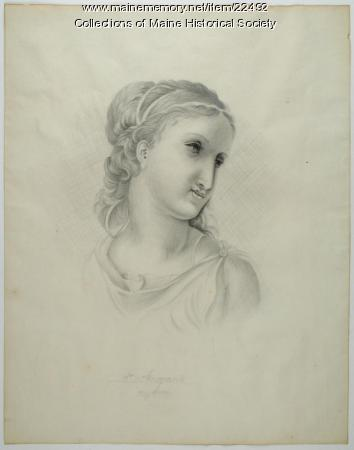 St. Marguerite drawing, Portland, 1825
