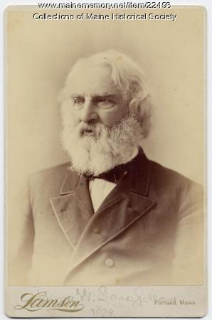 Henry Wadsworth Longfellow, Portland, 1878