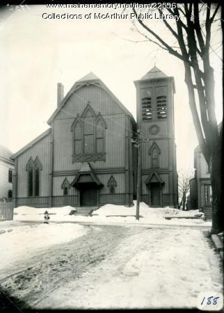 Etz Chaim Synagogue, Biddeford, 1916