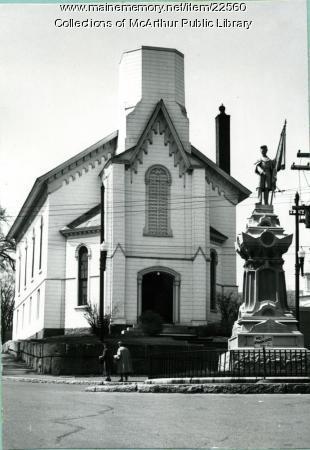 First Universalist Church, Biddeford, 1955