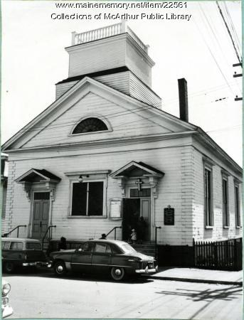 Saint Demetrios Church, Biddeford, 1955