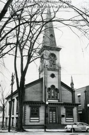 United Baptist church, Biddeford, 1955