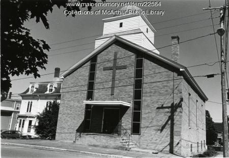 St. Demetrios Greek Orthodox Church, Biddeford, 1955