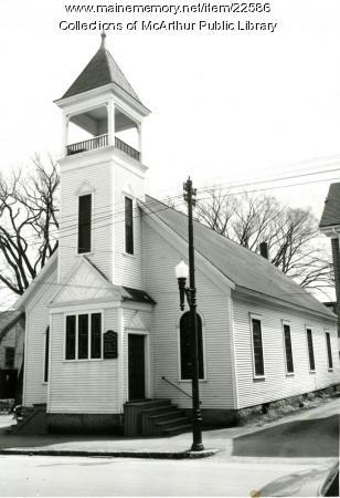 Advent Christian Church, Biddeford, 1955