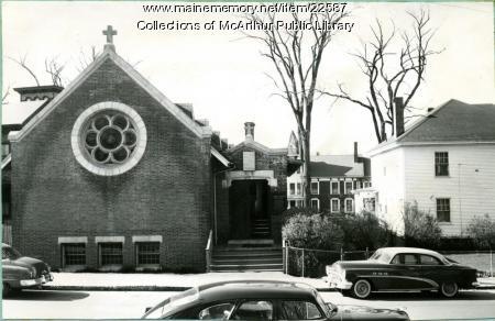 Christ Episcopal Church, Biddeford, 1955