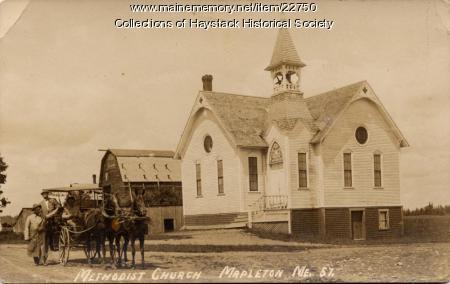 Methodist Church, Mapleton, ca. 1910