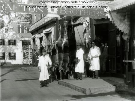 Hunting Season in Sanford, ca. 1910