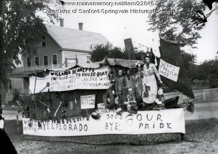 Parade Float, Sanford, ca. 1900