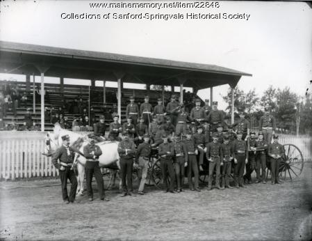 Firefighters On Display, Sanford, ca. 1900