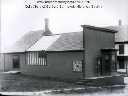 Fred Philpot's Photography Studio, Sanford, ca. 1900