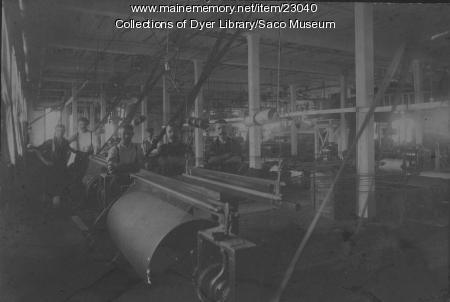 Pepperell Manufacturing Company, Biddeford, ca. 1900