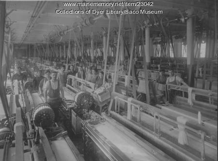 Pepperell Weavers, Biddeford, ca. 1920