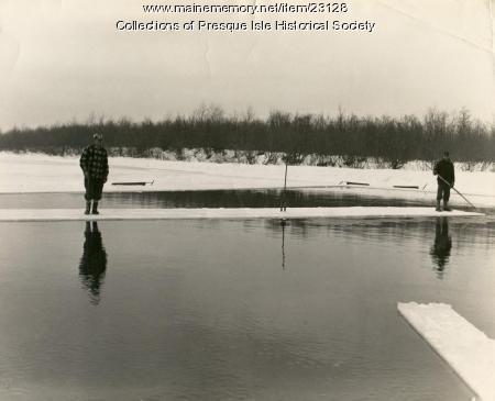 Moving ice, Presque Isle Stream, 1963