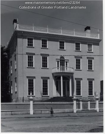 McLellan-Sweat Mansion, Portland, 1971