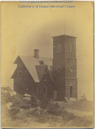 Sylvester B. Beckett House, Cape Elizabeth, ca. 1880