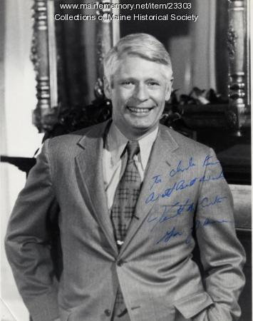 Governor Kenneth Curtis, Augusta, ca. 1967