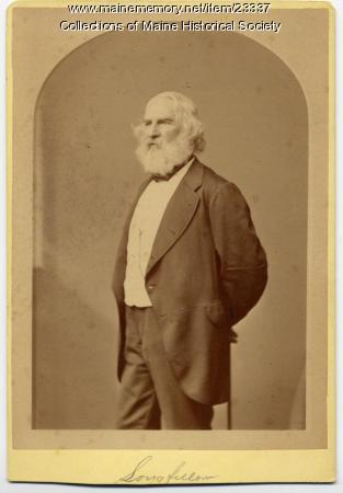 Henry Wadsworth Longfellow, ca. 1860