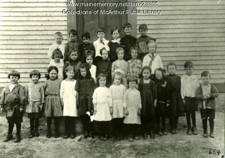 Pool Street School, Biddeford, ca. 1913