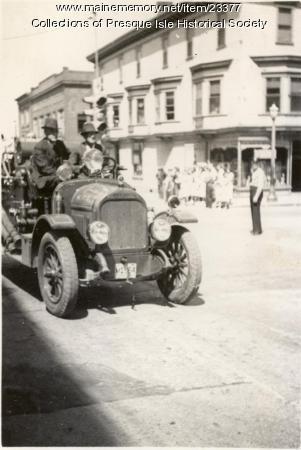 Firemen's Muster, Presque Isle,  1938