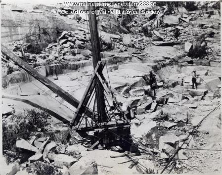 Oak Hill Quarry, Belfast, 1941