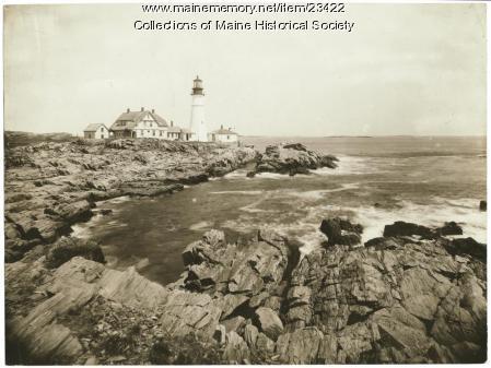 Portland Head Light, Cape Elizabeth, ca. 1930
