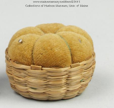 Penobscot pin cushion, ca. 1934