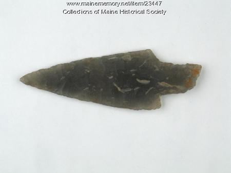 Spear point, Hallowell, ca. 2500 BP