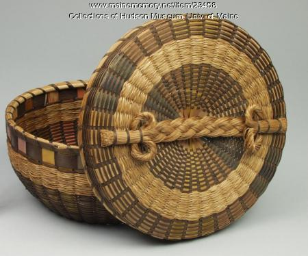 Sewing basket, ca. 1930