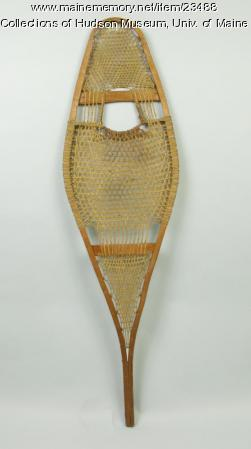 Native American snowshoe, ca. 1900