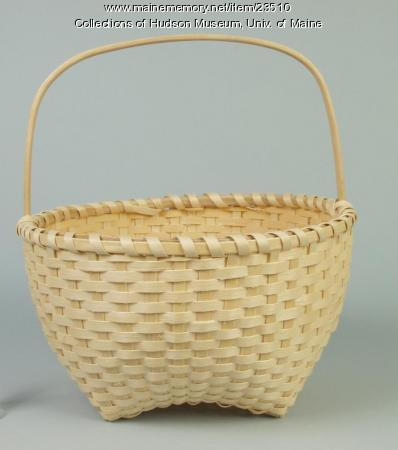 Maliseet gathering basket, 1993