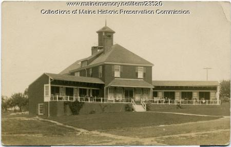 Men's cottage, Maine State Sanatorium, Hebron, ca. 1905