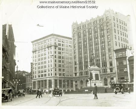 New Chapman building, Portland, 1924