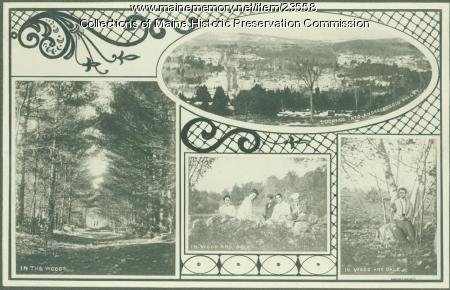 Scenic views, Maine State Sanatorium, Hebron, ca. 1909