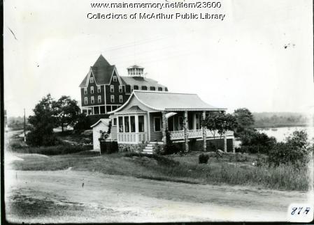 Hotel Rox, Fortunes Rocks, circa 1915