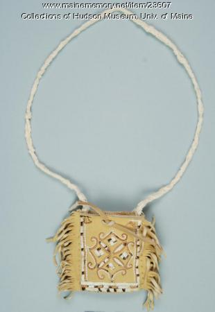 Penobscot hide and quill pouch, ca. 2004