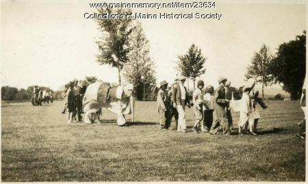 July 4 parade, Western Maine Sanatorium, 1929