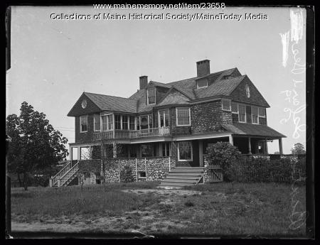 Gov. Baxter's residence on Mackworth Island, 1922