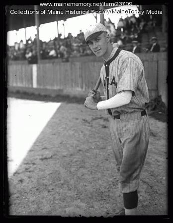 Ed Delaney, Portland Green Sox, 1925
